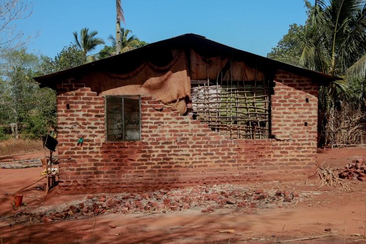 Facade mud houseTZ 2015