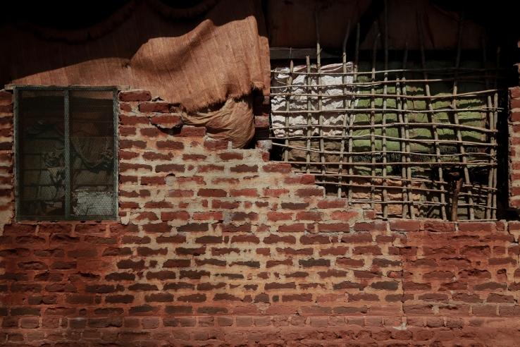 Facade mud house detailed TZ 2015
