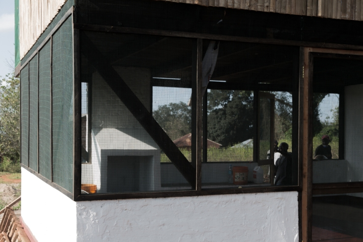 Bamboo house, Tanzania 2015
